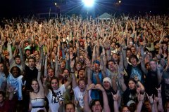 Seriously, a lot of concerts (Can you find me? I'm on the left in the middle-ish.)