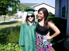 My little sister even graduated from high school this past summer!